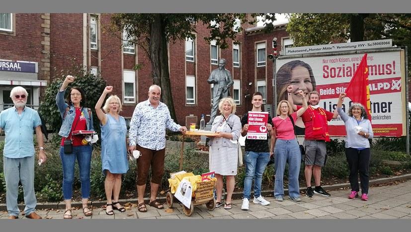 Tag des offenen Dankmals: Beim Lenin in Horst