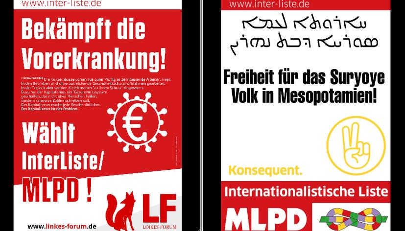Vielfältige Initiativen zur Unterstützung der Internationalistischen Liste/MLPD