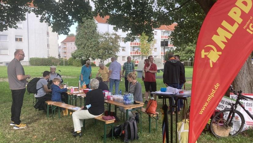 Von Stuttgart bis Dortmund - lebendiger Straßenwahlkampf der Internationalistischen Liste/MLPD