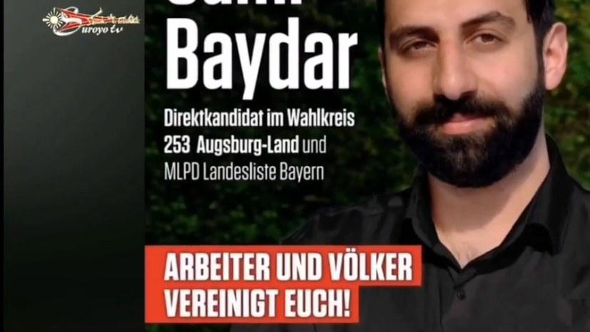 """Wahlkampf von Sami Baydar kommt auf """"Suroyo TV"""""""