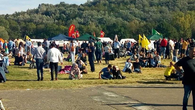 Erfolgreiches kurdisches Festival in Landgraaf in den Niederlanden