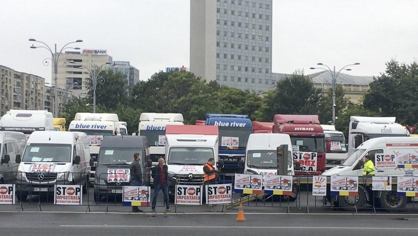 Berufskraftfahrer unzufrieden mit täglichen Steuer- und Quarantänemaßnahmen