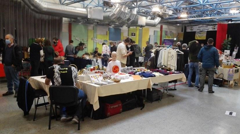Gelsenkirchen: Der Kultursaal wird zur Messehalle - auch Marx ist dabei