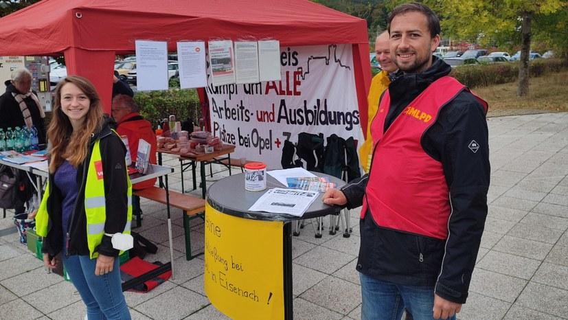 Internationale Solidarität und konzernweiter Kampf gegen die Schließung des Opel-Werks