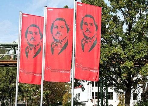 200. Geburtstag von Friedrich Engels