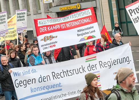 Gegen die Rechtsentwicklung der Regierung das Internationalistische Bündnis stärken!