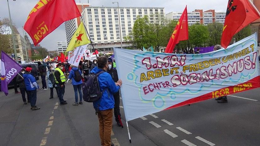 1.Mai 2021 - Berlin