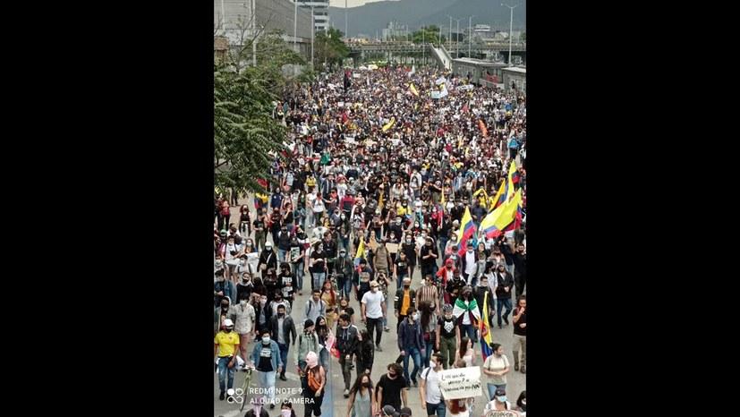 1.Mai 2021 - Kolumbien