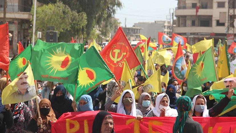 1.Mai 2021 - Rojava