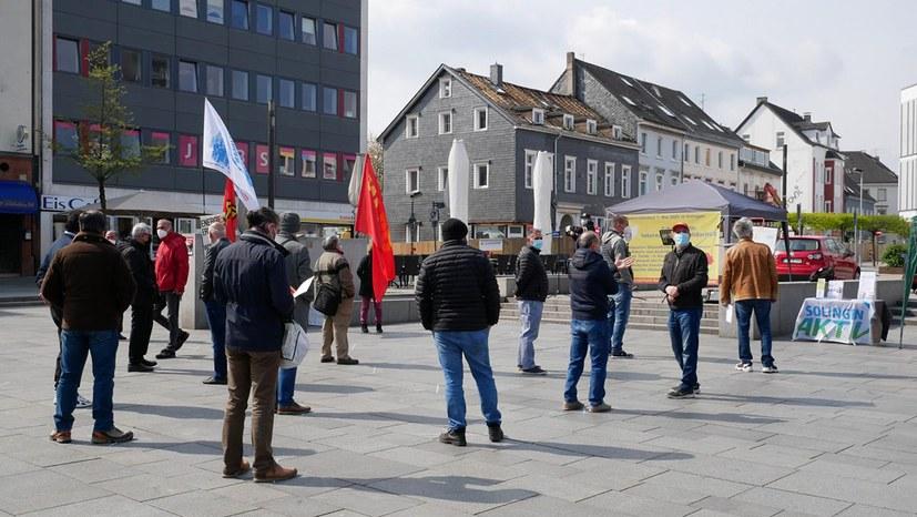 1.Mai 2021 - Solingen