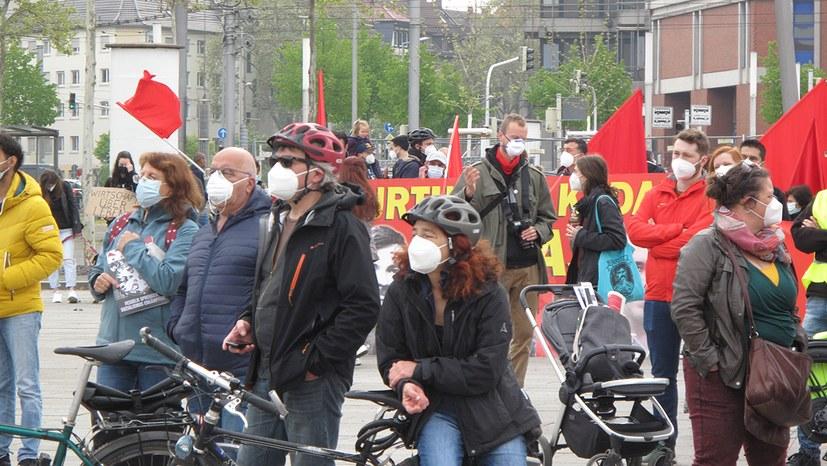 1. Mai 2021 - Mannheim