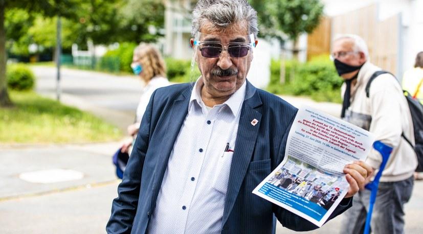 Der Aufruf von Kumpel für AUF zur Demonstration