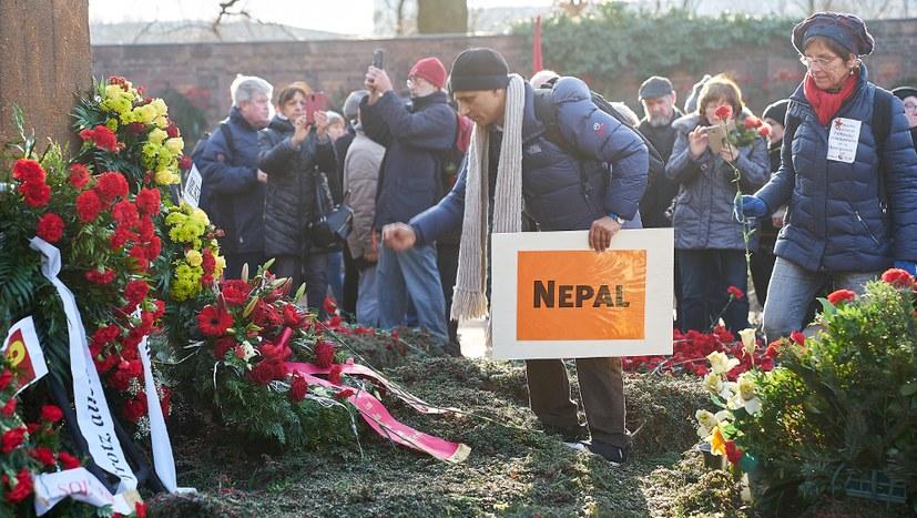 15_LLL 2020, Demonstration, Kranzniederlegung, Nepal.jpg