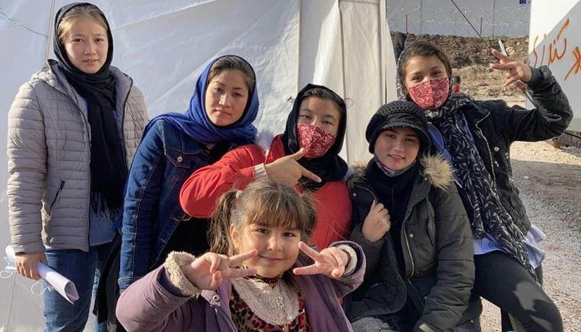 Weihnachtsaktion auf Lesbos