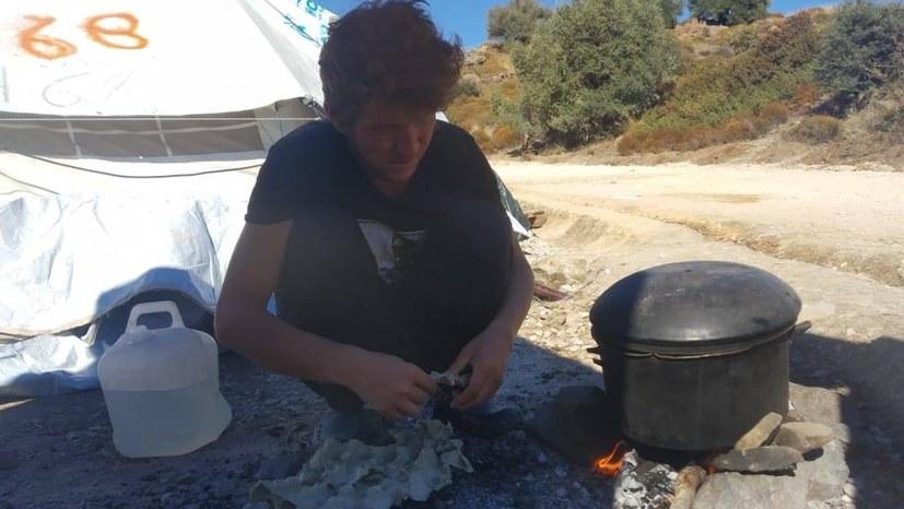 Lesbos - Leben im neuen Lager Kara Tepe