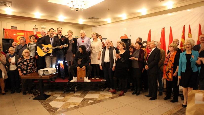 Bankett deutsche Delegation