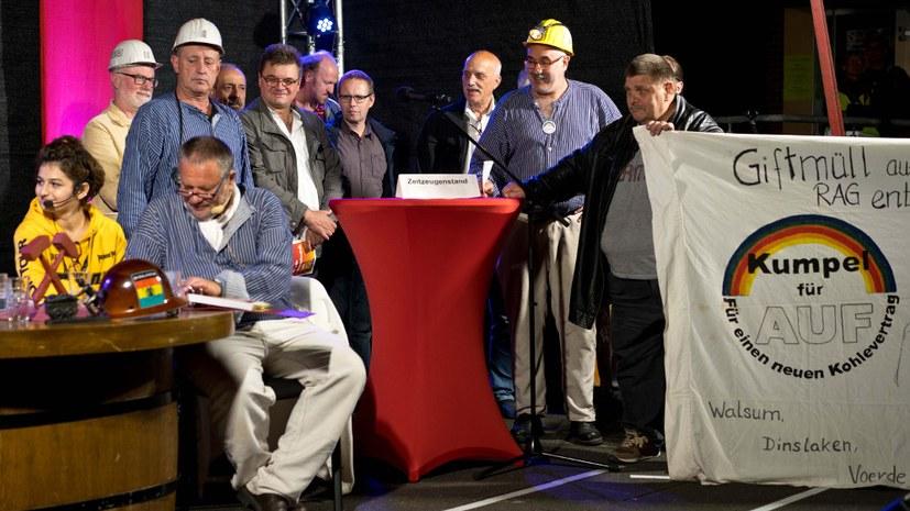 Ein Produkt des Streiks: Die Bergarbeiterbewegung Kumpfel für AUF