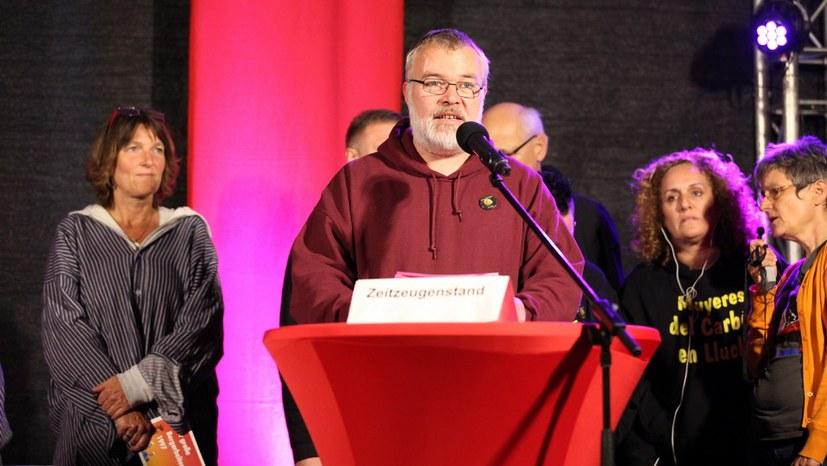 Der Hauptkoordinator der IMC - Andreas Tadysiak