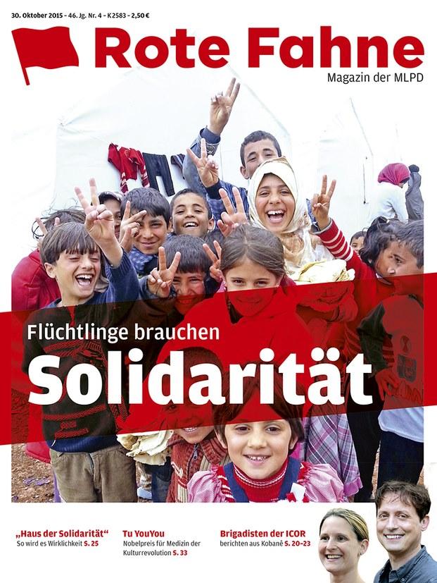 Rote Fahne 04/2015