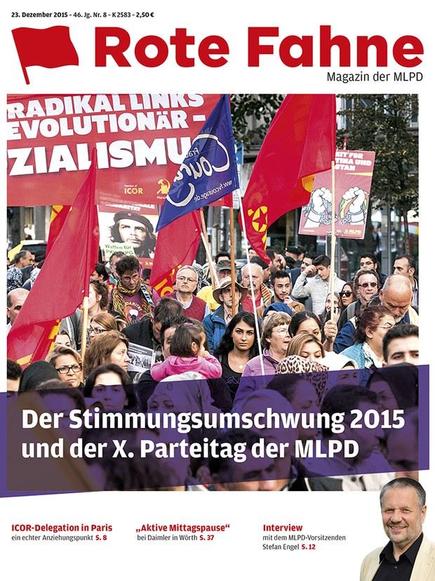 Rote Fahne 08/2015