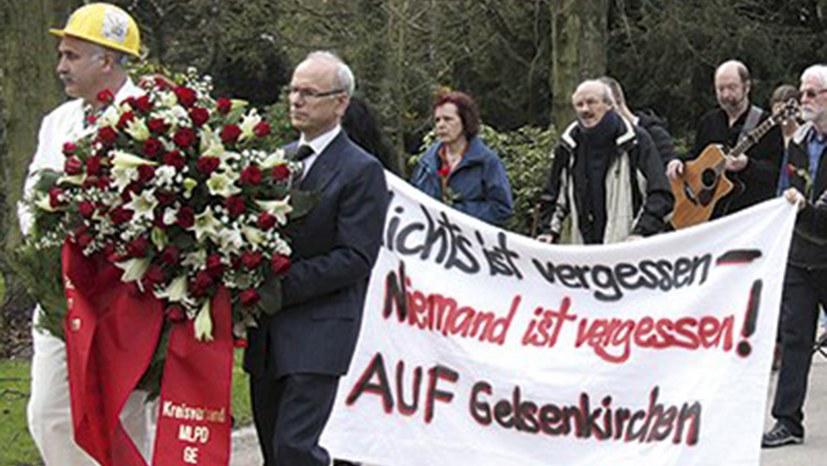 Wie die Bergleute von der Ruhr zum Sieg der Oktoberrevolution beitrugen