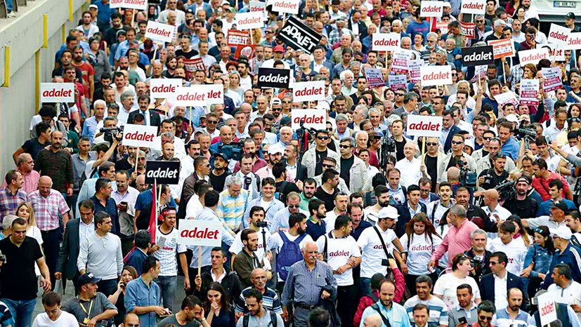 Rebellion gegen Erdoğan ?