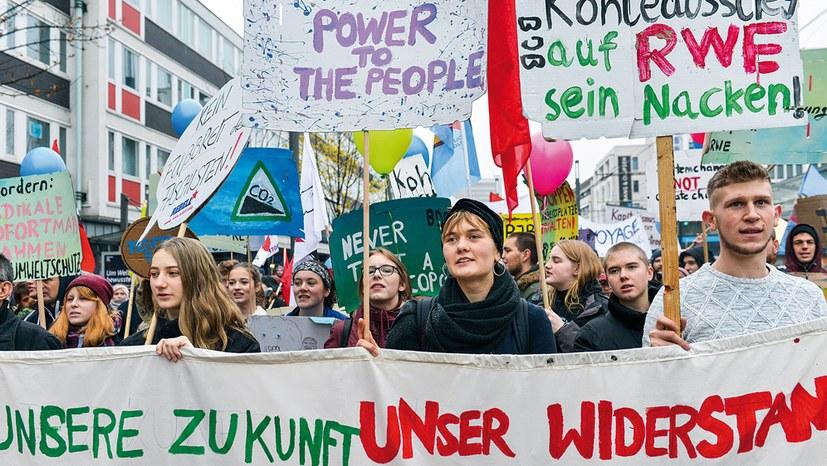 Bonner Klimagipfel: Kämpferische Umweltbewegung deutlich gestärkt
