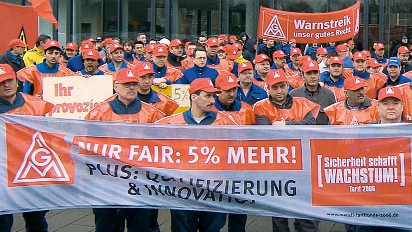 """""""24-Stunden-Streik"""" – ein Zugeständnis an die IG-Metall-Basis"""