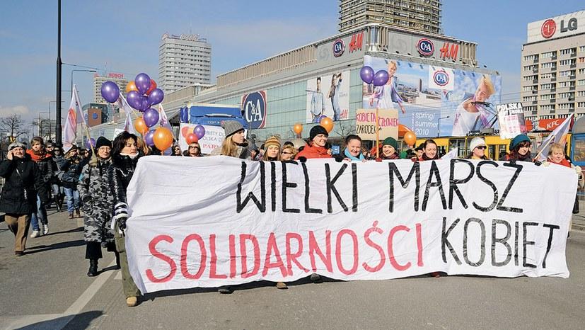 Polen: Frauen kämpfen gegen Kriminalisierung