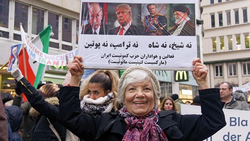 """""""Die Leute im Iran stellen die ganze Regierung infrage"""""""