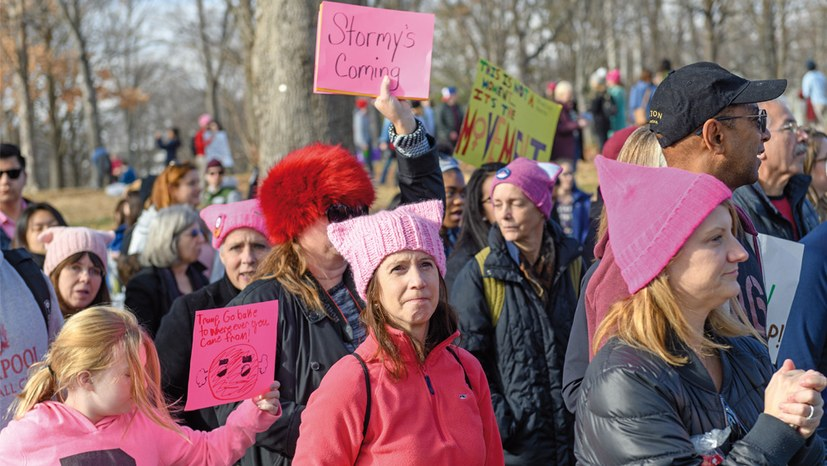 Frauenpower kontra Trump