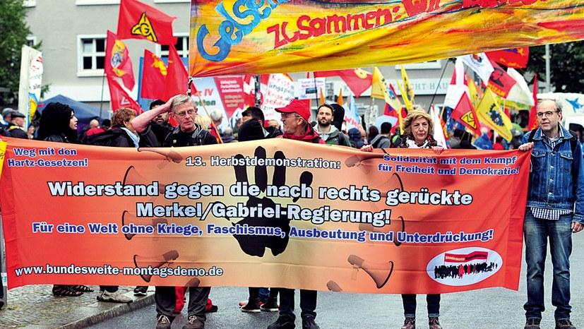 Organisierter Widerstand gegen den Rechtsruck der GroKo