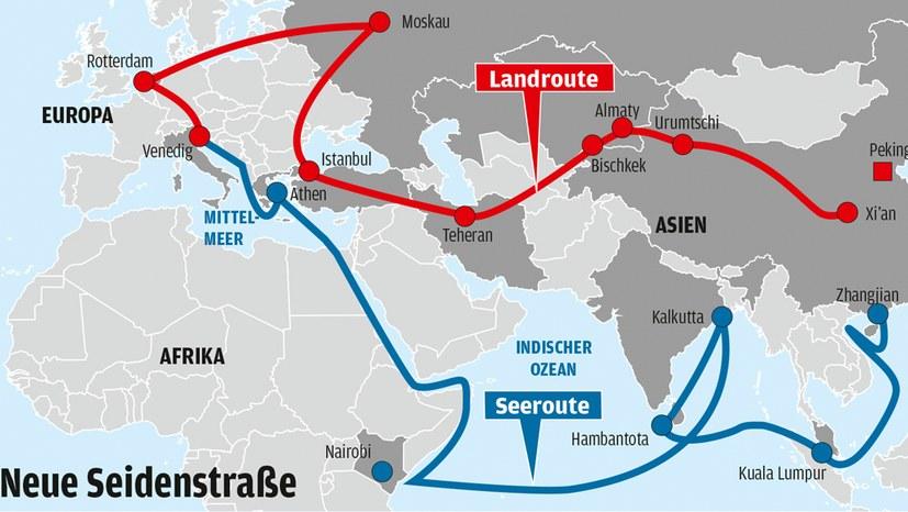 """Der Syrien-Krieg und die """"Neue Seidenstraße"""""""