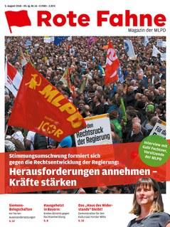 Rote Fahne 16/2018