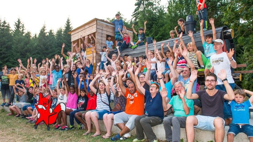 """""""Hochstimmung"""" beim Sommercamp in Truckenthal"""