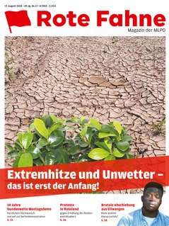 Rote Fahne 17/2018