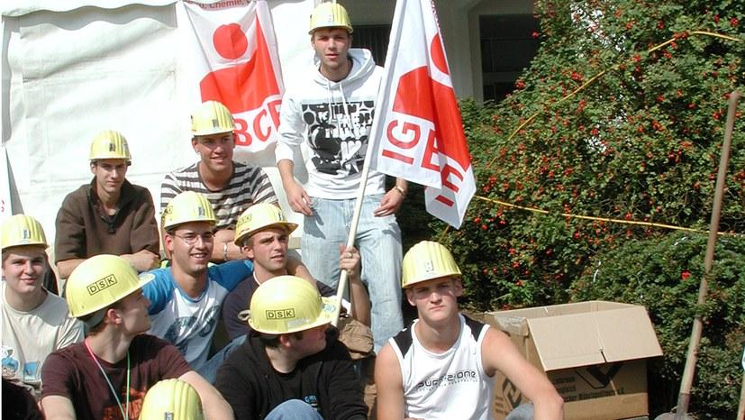Nein zu Zechenschließungen und Umweltzerstörung –  Bergarbeiter stehen für die Zukunft!