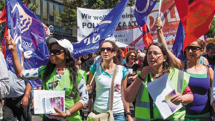 """""""Couragierte Frauen kämpfen gegen rechte Regierungen – weltweit!"""""""