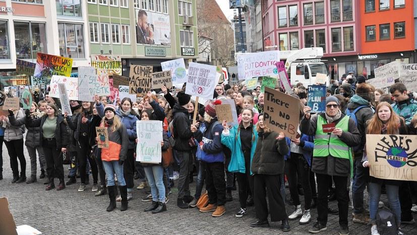 Lehrermangel, Klimaschutz, Tarifrunde
