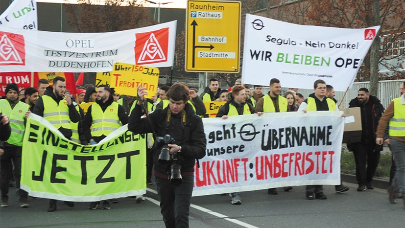 Betriebsbedingte Kündigungen jetzt auch bei Opel Rüsselsheim