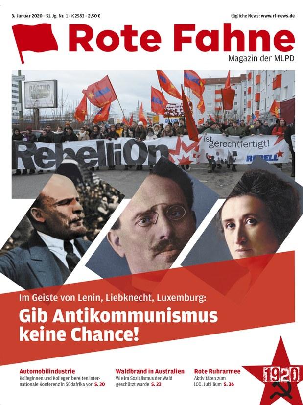 Rote Fahne 01/2020