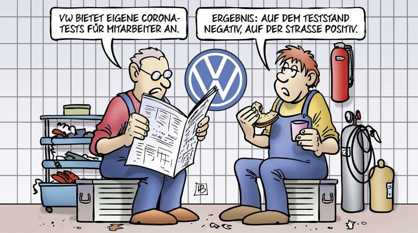 VW: Corona-Streik für besseren Arbeitsschutz