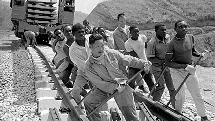 Tansam-Bahn: Kontrastprogramm zum heutigen Neokolonialismus Chinas