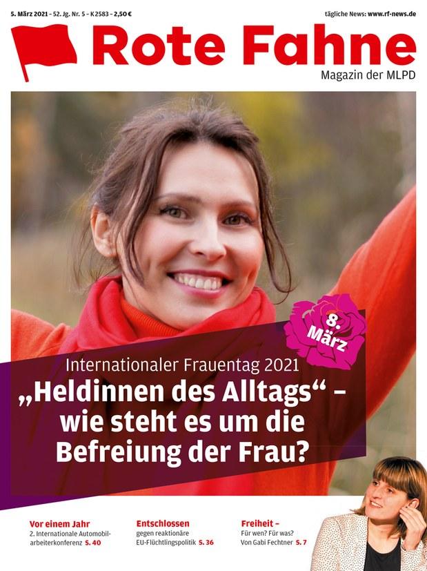 Rote Fahne 05/2021