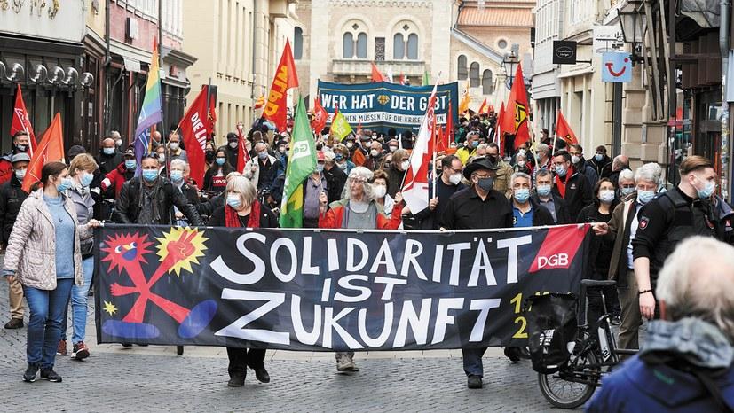 1. Mai 2021 – eine Nachbetrachtung:  Erkämpfte Erfolge der Arbeiterbewegung