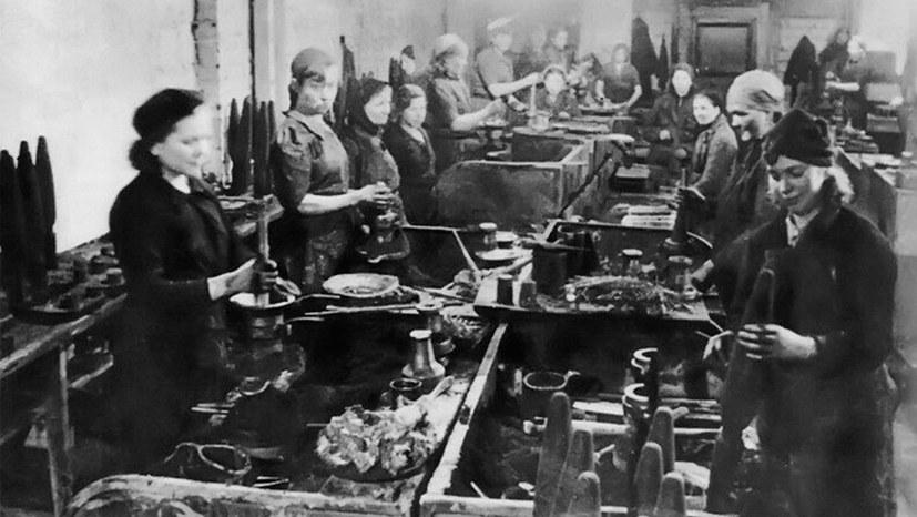 Sowjetische Frauen im Kampf gegen die faschistische Wehrmacht