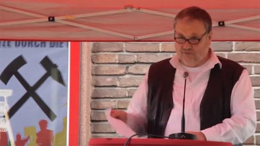 Rede von Stefan Engel beim Bergarbeiter-Event am 5. Juni 2021