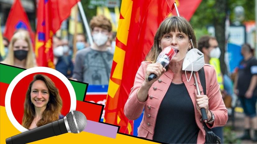 Reportage vom bundesweiten Wahlkampfauftakt der Internationalistischen Liste /MLPD